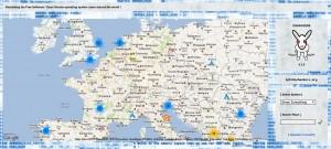 OSHackers Karte