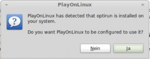 PlayOnLinux und Optirun