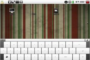 Bodhi Linux 2 Alpha Tablet