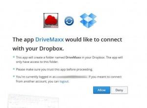 DriveMaxx: Dropbox verbinden