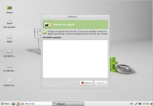Linux Mint 13 Maya Xfce kein mintMenu