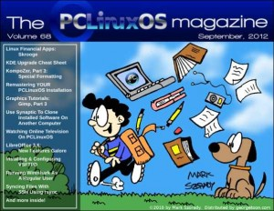 PCLinuxOS Magazine September 2012 Teaser