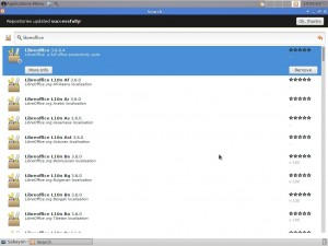 Sabayon Linux 10 Xfce: Rigo