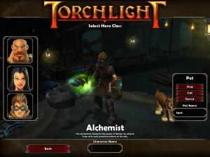 Torchlight: Hero aussuchen