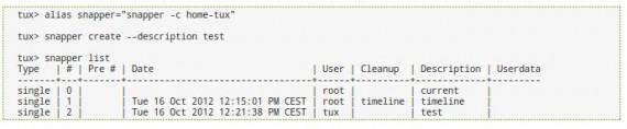 Schnappschüsse mit snapper (Quelle: openSUSE.org)