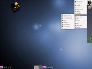 OS4 13 OpenDesktop: Menü