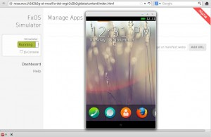 Firefox OS Simulator als Browser-Add-On