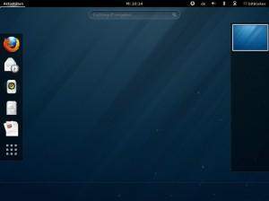 Fedora 18: Aktivitäten