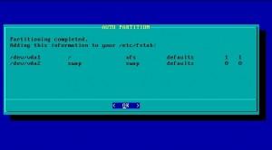 Salix OS 14 Xfce: Xfs ist Standard-Dateisystem