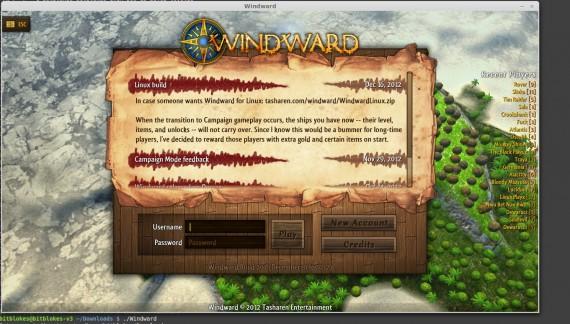 Windward unter Linux