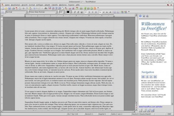 FreeOffice: TextMaker
