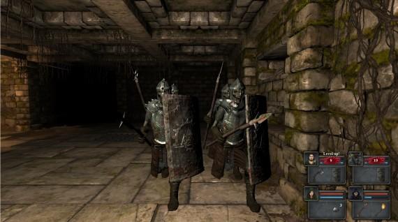 Legend of Grimrock: Wenn sie zu viert kommen, ist Taktik angesagt!
