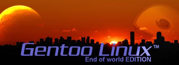 Gentoo: End of the World (Quelle: gentoo.org)