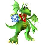 Wettberwerb: Der freundliche KDE-Drache Konqi soll aufgemöbelt werden