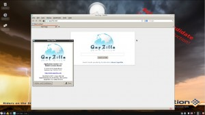 siduction 12.2.0 Razor-qt mit QupZilla als Browser