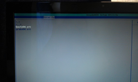 UEFI Secure Boot: Schritt 7