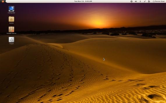 Parsix GNU/Linux 4.0 (Quelle: parsix.org)