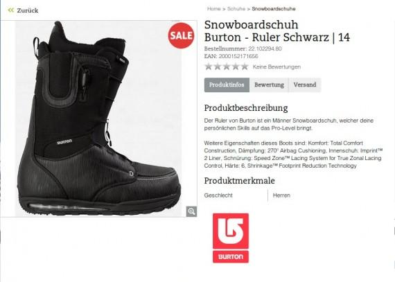 Burton-Schuh (http://www.sport-schuster.de/Schuhe/Snowboardschuhe/Burton-Ruler-oxid.html)