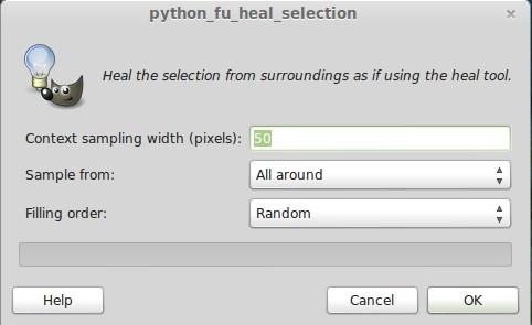 GIMP: Heal Selection