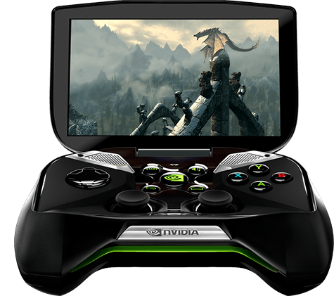 Project SHIELD: Multi-Touch Display (Quelle: shield.nvidia.com)