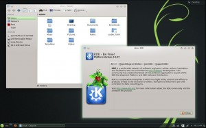 openSUSE 12.3 KDE: Dolphin