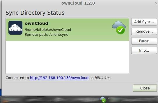 ownCloud Client: neue Symbole