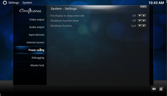 "XBMC 12.0 ""Frodo"": Power Savings"