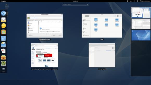ROSA Desktop Fresh 2012 GNOME Shell (Quelle: rosalab.com)