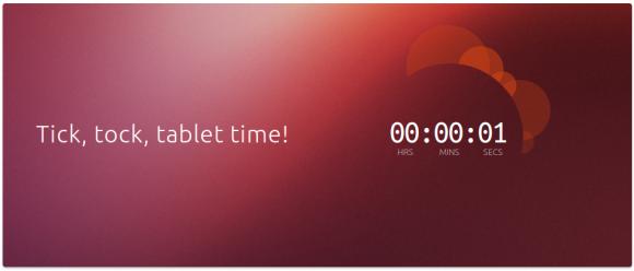 Countdown: noch eine Sekunde ...