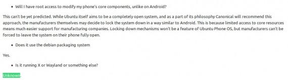 Ubuntu Phone mit unbekanntem Display-Server?