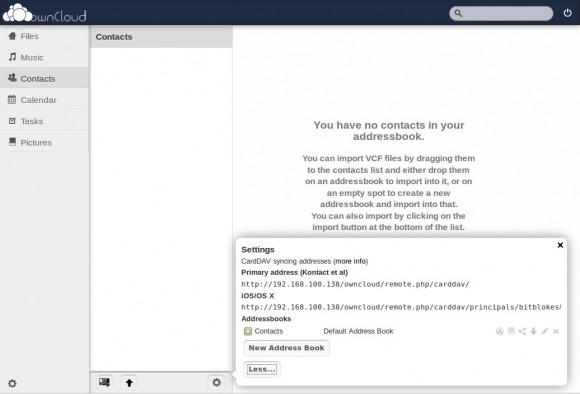 ownCloud 4.5: CardDAV wird zur Ostereiersuche