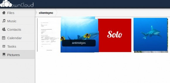 Galerie-Ansicht: ownCloud 4.5