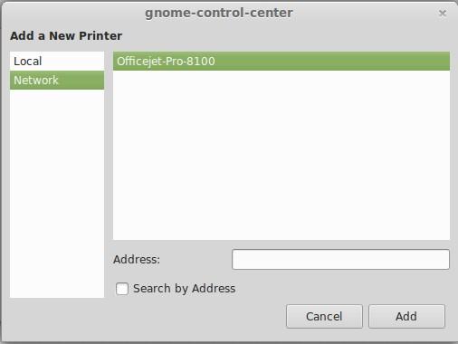 Netzwerkdrucker sofort erkannt