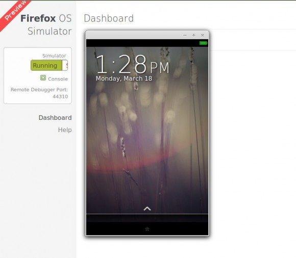 Firefox OS Simulator: r2d2b2g