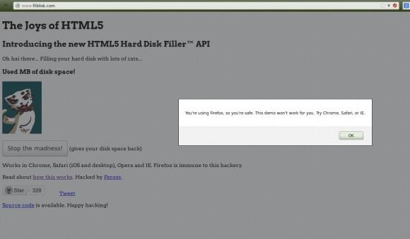 FillDisk.com mit Firefox ...