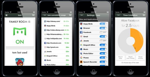 Kontroll-App für Android und iPhone (Quelle: Kickstarter.com)