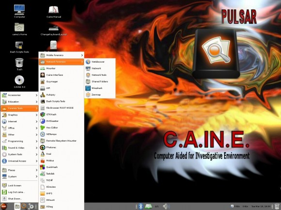 Caine 4.0: Forensic Tools