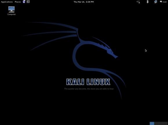 Kali Linux 1.0: Desktop