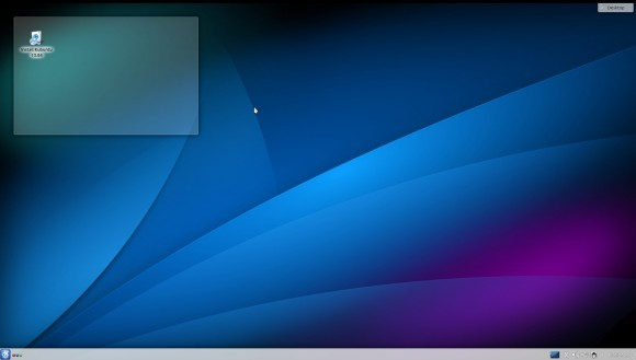 Kubuntu 13.04: Desktop