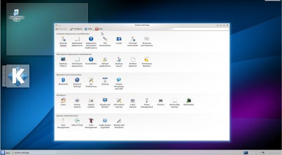 Kubuntu 13.04: Einstellungen