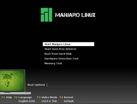 Manjaro Openbox-Lite 0.8.4: Bootscreen