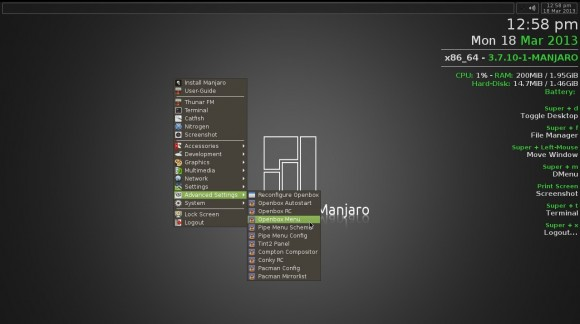 Manjaro Openbox-Lite 0.8.4: Advanced