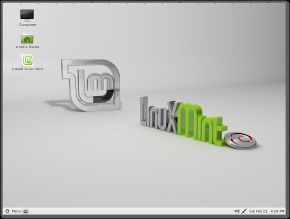 LMDE: MATE (Quelle: linuxmint.com)
