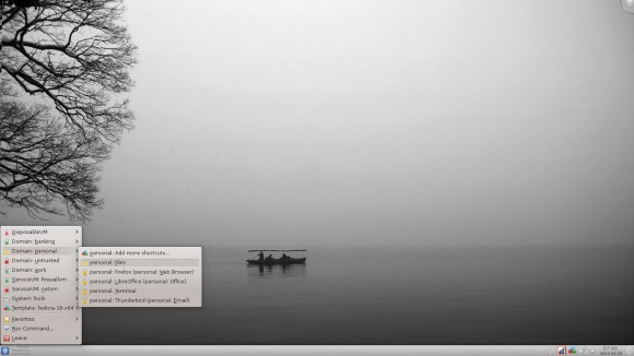 Qubes 2: KDE (Quelle: qubes-os.org)