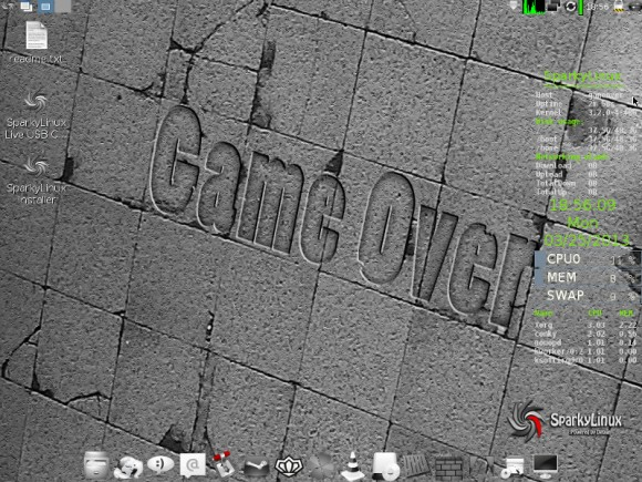 "SparkyLinux 2.1 ""GameOver"""