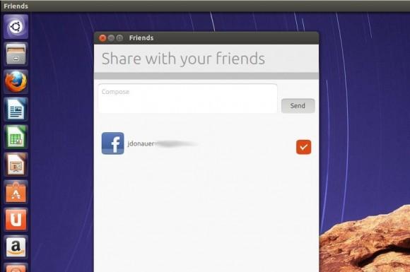 Ubuntu 13.04 Raring Ringtail: friends-app nutzen