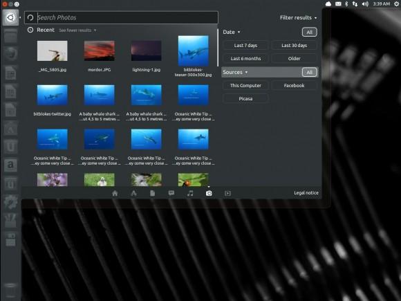 Ubuntu 13.04 Raring Ringtail: Foto-Lens