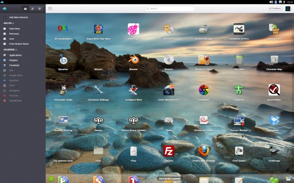Jolicloud-Desktop: Lokale Applikationen