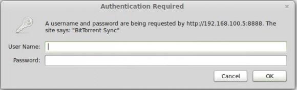 BitTorrent Sync: Passwort für das WebGUI