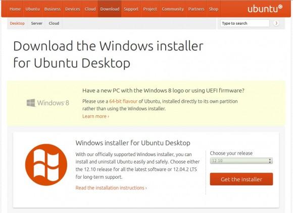 Ubuntu: Windows 8 und WUBI ist keine gute Idee!